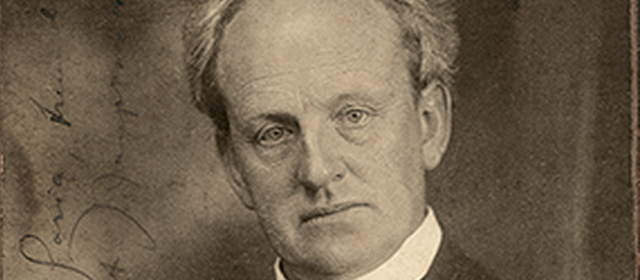 Gerhart Hauptmann premio Nobel per la letteratura nel 1912